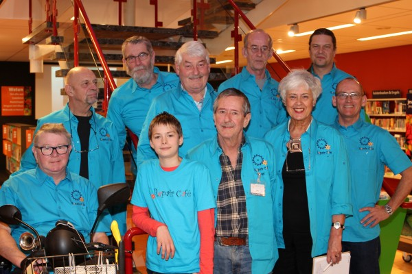 Stichting Repair Café Drachten (RCD) bestaat 1 jaar