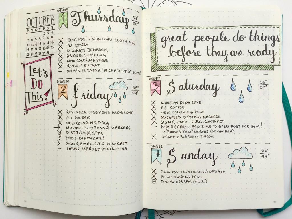 Weg met de digitale agenda, begin een bullet journal