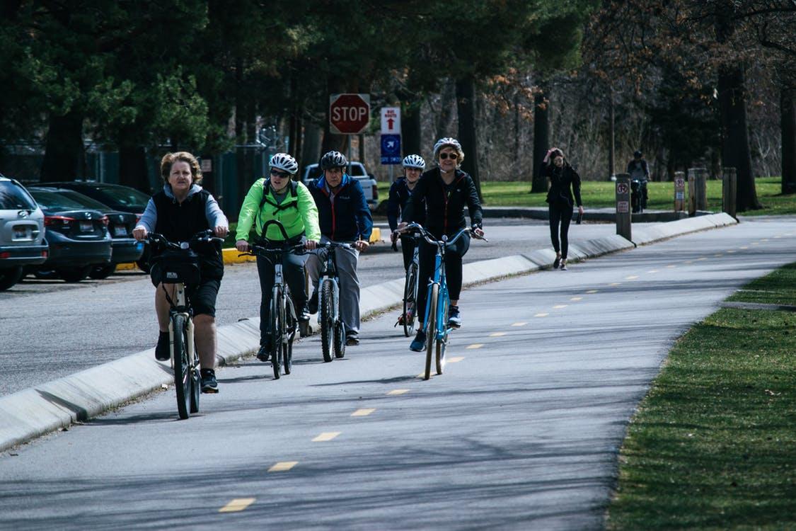 Ouderen op de fiets, opletten!