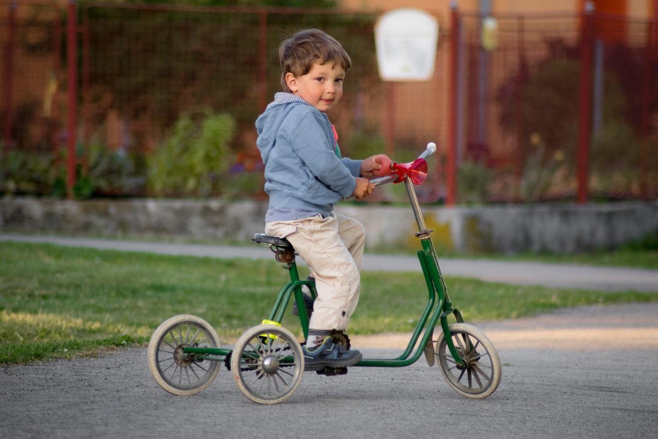 Koop geen fiets op de groei